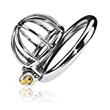 Peniskäfig Keuschheitskäfig Chastity Cage Ultra small steel Cock Cage Male Chastity Device...