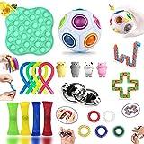 Fidget Toy Set, Fidget Toy Set Box für Kinder oder Erwachsene, Antistress Spielzeug Anxiety...